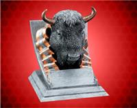 Buffalo Mascot Sport Bank Resin