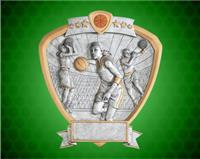 "8"" x 8 1/2"" Female Basketball Shield Resin"
