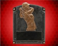 "6 1/2"" x 5"" Legends of Fame Female Golf Resin"