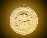2 inch Gold Martial Arts Laserable BriteLazer Medal