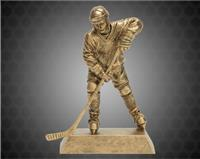 "8"" Gold Male Hockey Resin"
