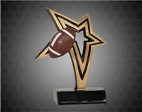 6 Inch Football infinity Star Resin