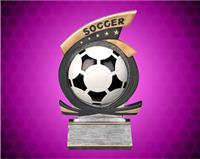Soccer Gold Star Resin