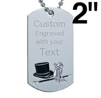 Dance Dog Tags