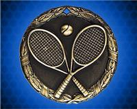 1 1/4 inch Gold Tennis XR Medal