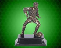 "6"" Male Soccer Action Sport Resin"