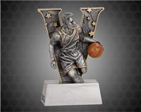 6 Inch Male Basketball V Series Resin