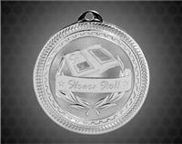 2 inch Silver Honor Roll Laserable BriteLazer Medal
