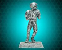 "8 1/4"" Pewter Football Resin"
