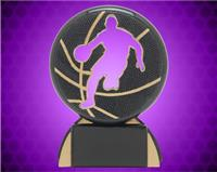 "4 1/2"" Male Basketball Shadow Sport Resin"