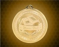 2 inch Gold Honor Roll Laserable BriteLazer Medal