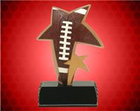 "6"" Football Color Sport Star Resin"