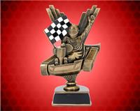 "9 1/2"" Gold/Bronze Go Kart Resin"