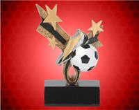 "6"" Top Star Soccer Resin"