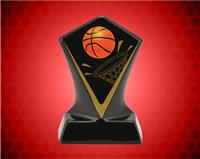 BLACK DIAMOND CERAMIC BASKETBALL AWARD 5 3/4 INCH