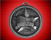2 inch Silver Citizenship Value Medal