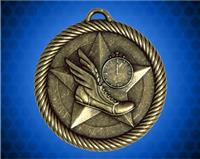 2 inch Gold Track Value Medal