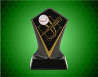 BLACK DIAMOND CERAMIC BASEBALL AWARD 7 INCH
