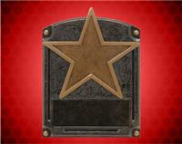 "6 1/2"" x 5"" Legends of Fame Star Resin"