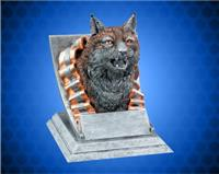 Bobcat Mascot Sport Bank Resin