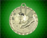 2 inch Gold Soccer Bright Medal