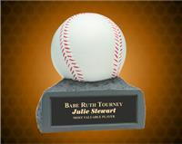 4 inch Color Baseball Resin