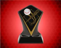 BLACK DIAMOND CERAMIC BASEBALL AWARD 4 3/4 INCH