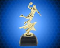 "8 1/4"" Male Star Basketball Trophy"