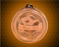 2 inch Bronze Honor Roll Laserable BriteLazer Medal