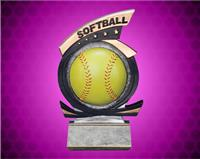 Softball Gold Star Resin