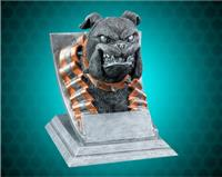 Bulldog Mascot Sport Bank Resin