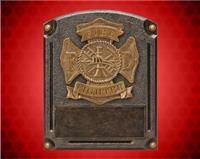 "8"" x 6"" Legends of Fame Fire Resin"