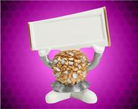 "4 1/2"" Cheerleader Ball Head Resin"