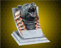 Bear Mascot Sport Bank Resin