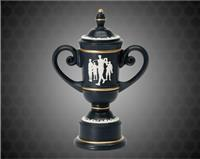 "10"" Male Cameo Golf Cups Resin"