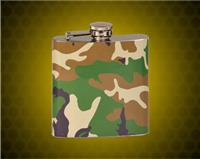 6 oz. Camouflage Stainless Steel Flask