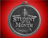 2 inch Silver Student of the Month Value Medal