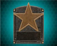 "8"" x 6"" Legends of Fame Star Resin"