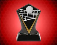 BLACK DIAMOND CERAMIC VOLLEYBALL AWARD 5 3/4 INCH