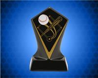 BLACK DIAMOND CERAMIC BASEBALL AWARD 5 3/4 INCH