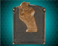 "8"" x 6"" Legends of Fame Male Golf Resin"