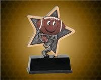 5 Inch Football Little Pal Resin