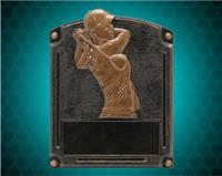 "8"" x 6"" Legends of Fame Female Golf Resin"