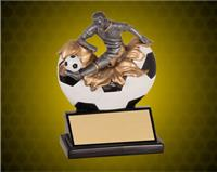 5 1/4 Inch Male Soccer Xploding Resin