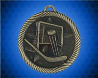 2 inch Gold Hockey Value Medal