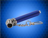 3 1/4 inch Blue Tire Pressure Gauge with Keychain