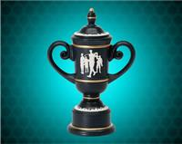 "11"" Male Cameo Golf Cups Resin"
