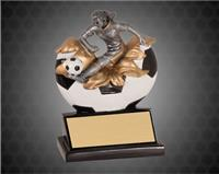 5 1/4 Inch Female Soccer Xploding Resin