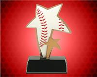 "6"" Baseball Color Sport Star Resin"