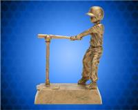 "7"" Gold Male T-Ball Resin"